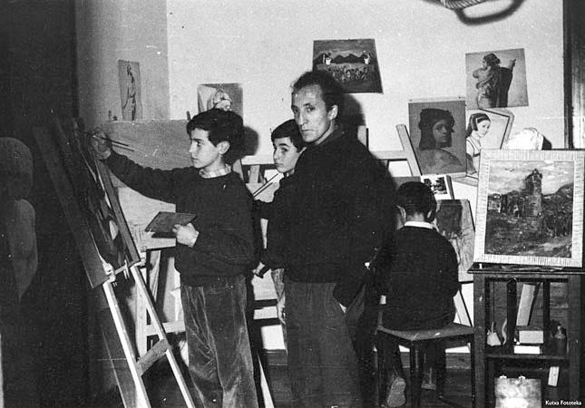 Jesús Gallego, profesor en la Asociación Artística