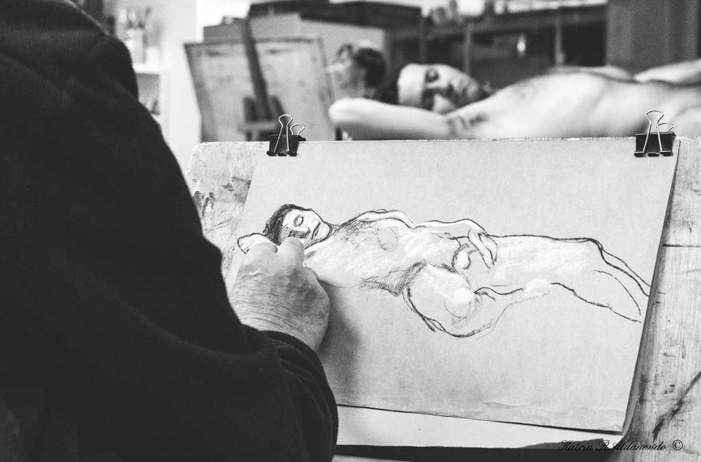 Exposición de los talleres de desnudo, retrato y pintura