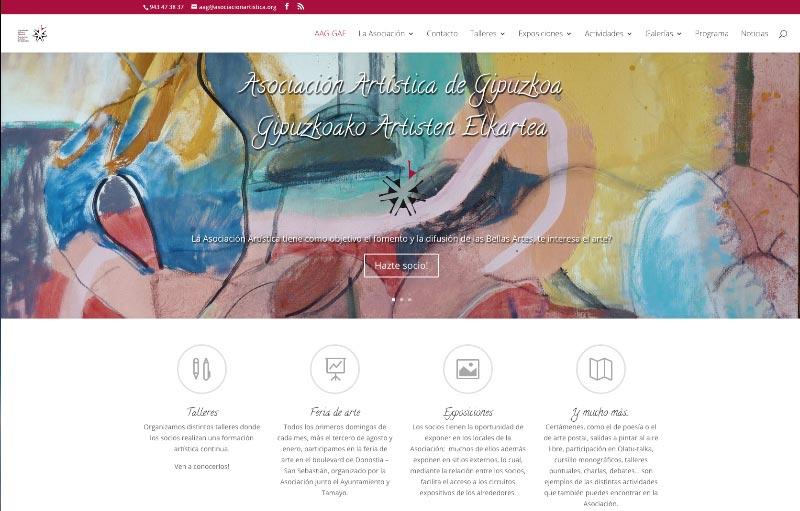 Web party – Presentación de nuestro nuevo sitio web