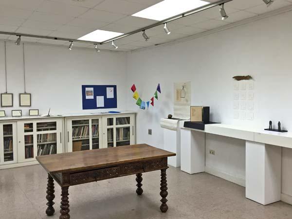 Exposición de creaciones literarias de los socios