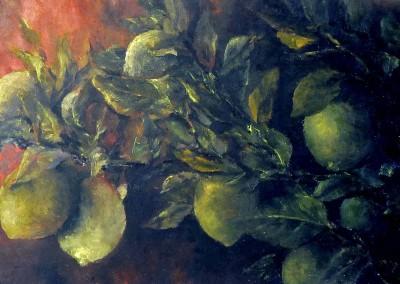 El limonero en penumbra. 2015
