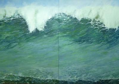 La gran ola. Díptico 2014
