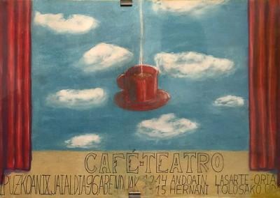 Cartel para Café - teatro