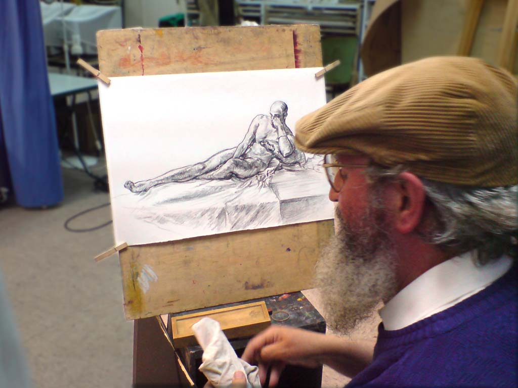 Exposición del taller de desnudo