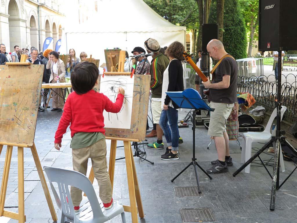 Programa de los Arte Topaketak Kantandantes