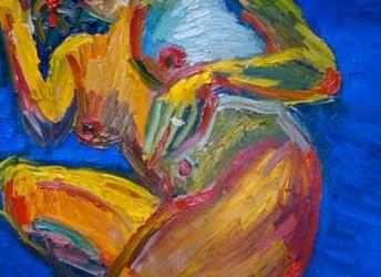 Exposición de Cristina Edurne Mendiluze en Otzazki de Hondarribia
