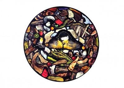 Parte de la exposición 'Casas para pájaros'