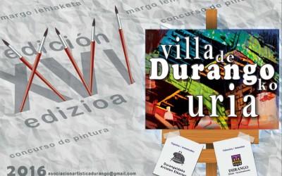 Concurso de pintura Villa de Durango
