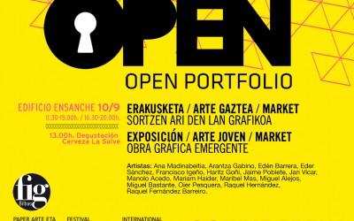 Arantza Gabino en Open Portfolio FIG 2016