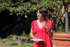 Sihara Nuño, poeta invitada en la Asociación