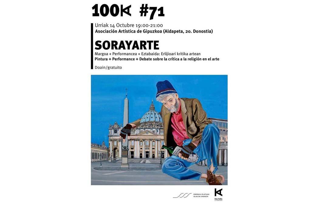 SorayArte: presentación de pintura, perfomance y debate