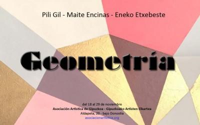 'Geometría', exposición en la Asociación Artística