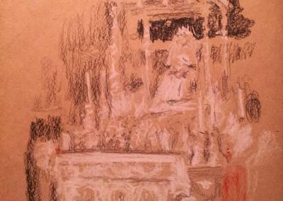Altar en Sevilla