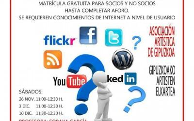 Curso gratuito sobre redes sociales para artistas