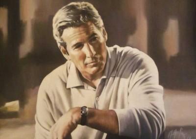 'Richard Gere'. Obra en propiedad del actor.