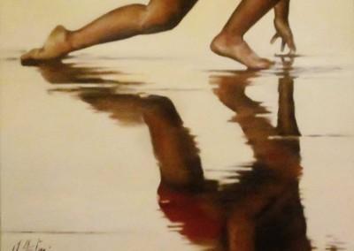 'Bañador rojo'