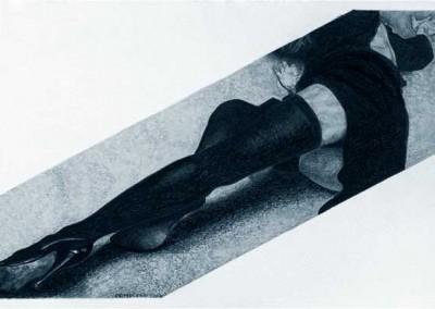 'Piernas en diagonal'