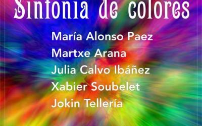 Martxe Arana y Julia Calvo en Galería Cincómonos de Barcelona
