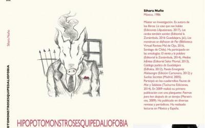 La poeta Sihara Nuño en la Asociación Artística