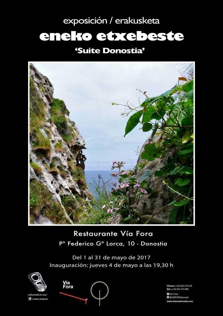 Exposición de fotografía en Vía Fora de Donostia