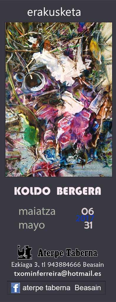 Koldo Bergera en Aterpe de Beasain