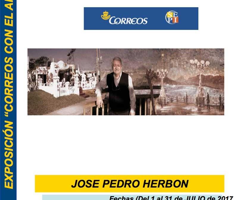 José Pedro Herbón 'Pete', en Correos