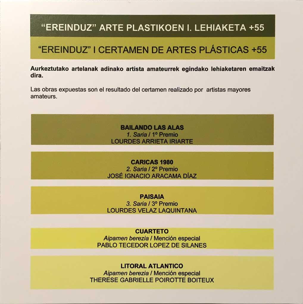 Socios de la artística en Okendo Kulturetxea