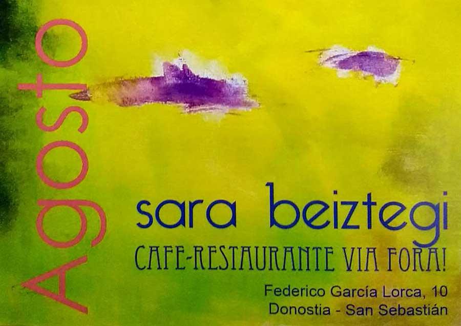 Exposición de Sara Beiztegi en Vía Fora