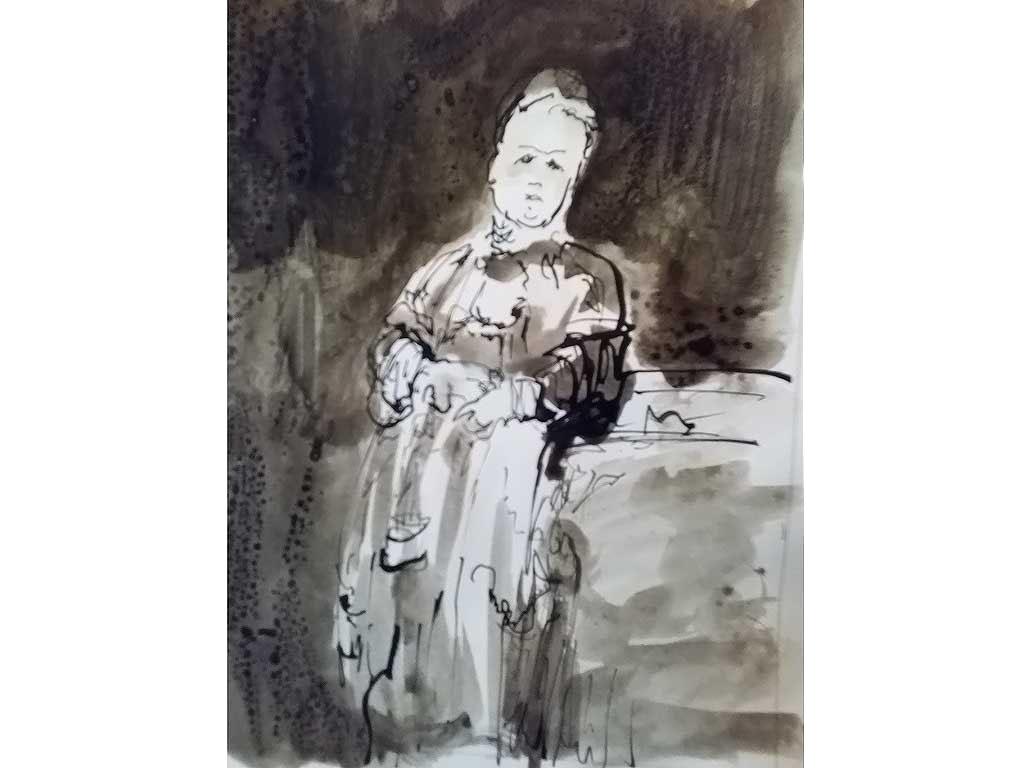 Rotaeche-Pincel-tinta