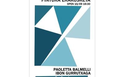 Ibon Gurrutxaga y Paoletta Balmelli en Re-Read de Gros