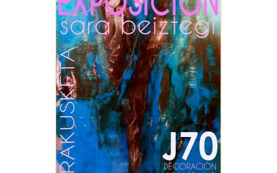 Exposición de Sara Beiztegi en J70 de Donostia
