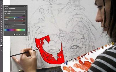 Taller de diseño gráfico y arte digital en la asociación