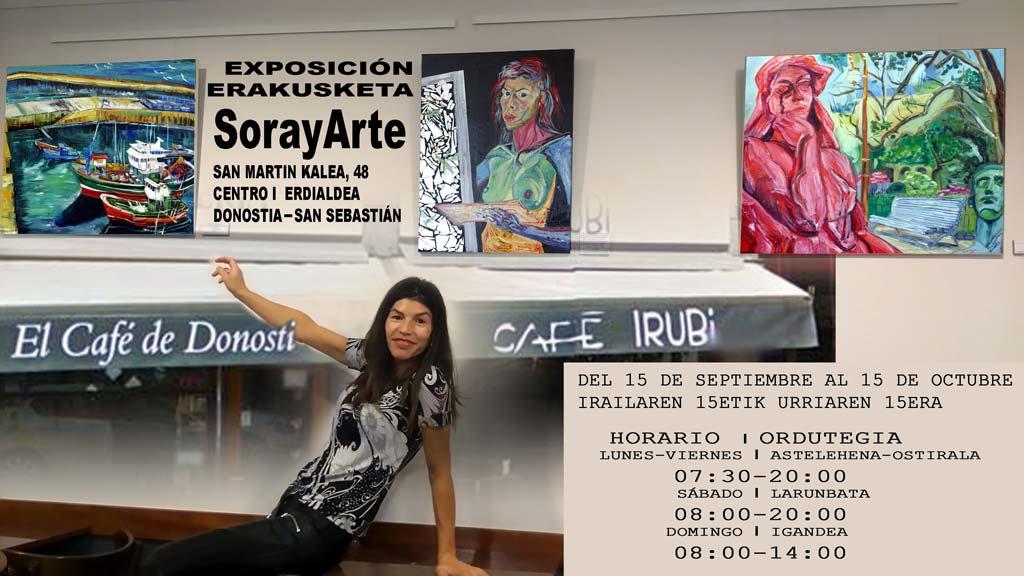 Exposición de Soraya García en Irubi