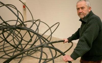 Visita al escultor José Zugasti en su estudio