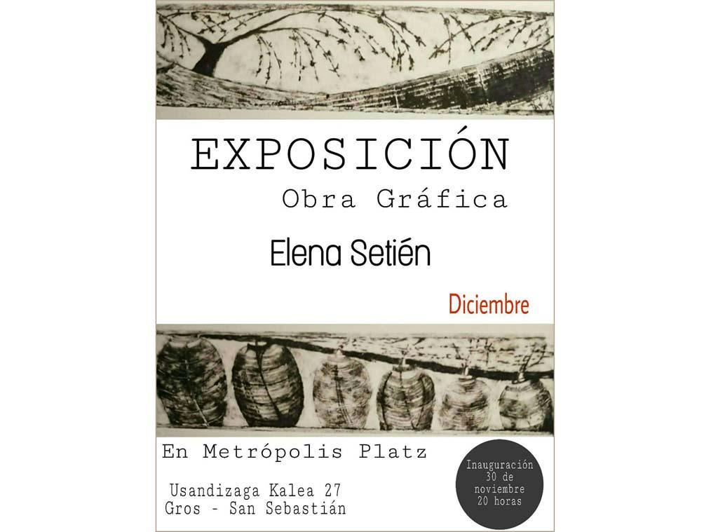 Elena Setién expone en Metropolis Platz