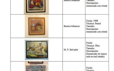 Nuevas incorporaciones a los fondos de arte de la AAG