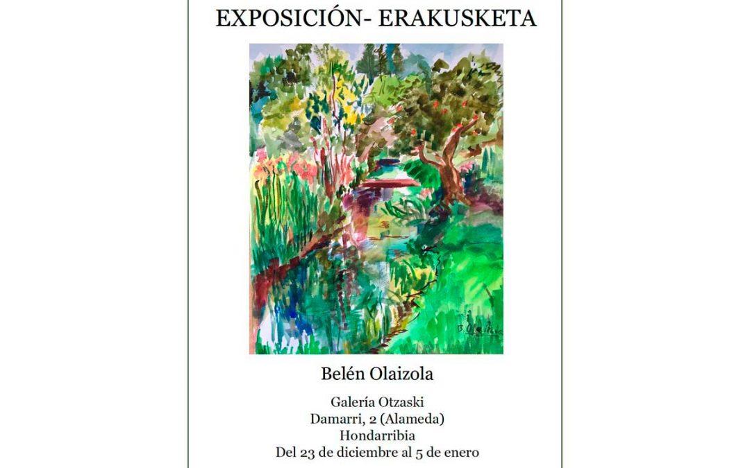 Belén Olaizola en Galería Otzazki