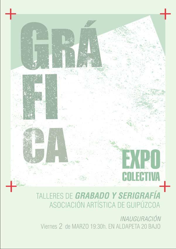 Exposición de los talleres de gráfica de la asociación