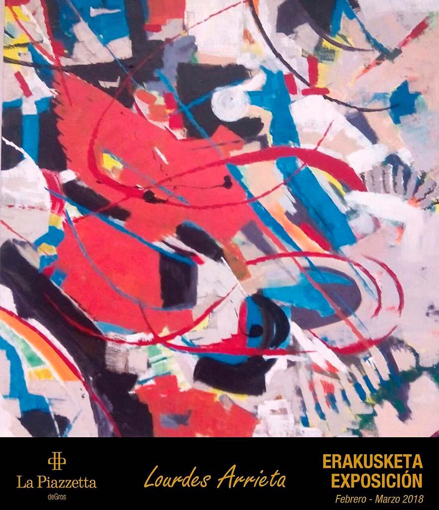 Lourdes Arrieta en La Piazzetta de Gros