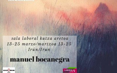 Inauguración de Manuel Bocanegra en Caja Laboral de Irun