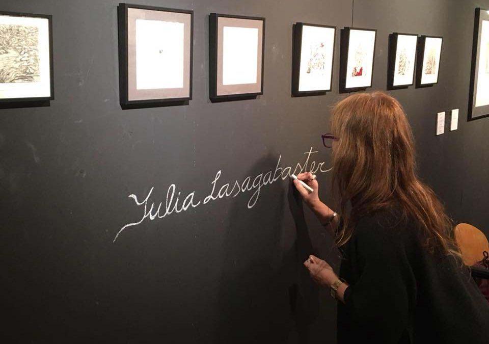 Julia Lasagabaster. Gráfica en Loiola Kulturetxea