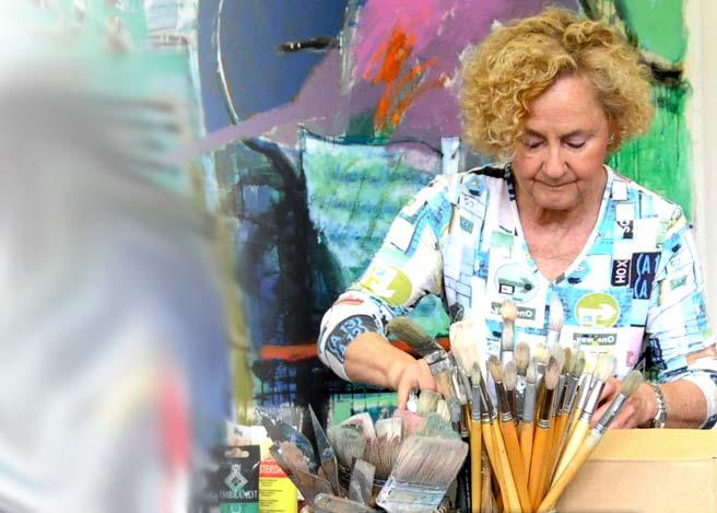 Martina Dasnoy en Airial Galerie de Mimizan