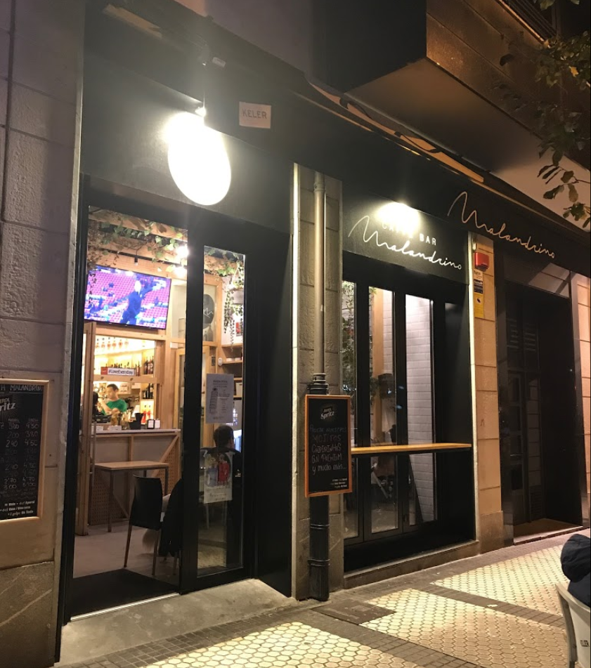 cafe bar malandrino donostia antiguo