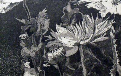 Exposición de Maite Arrieta en el Hall de entrada