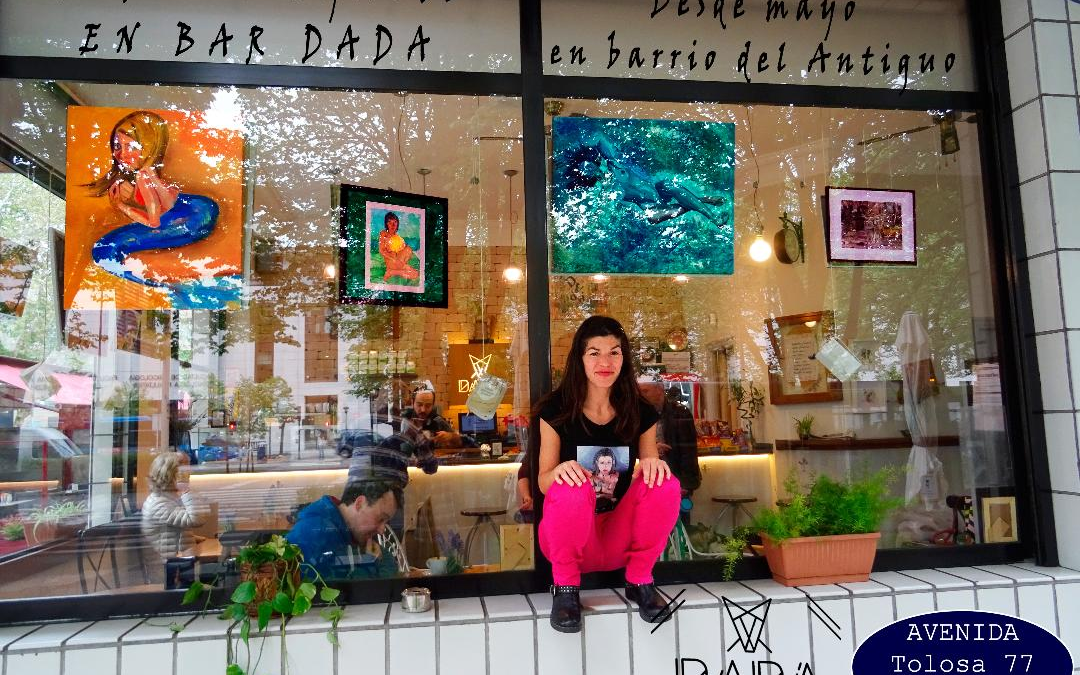Soraya García en Dadá Coffe Bar
