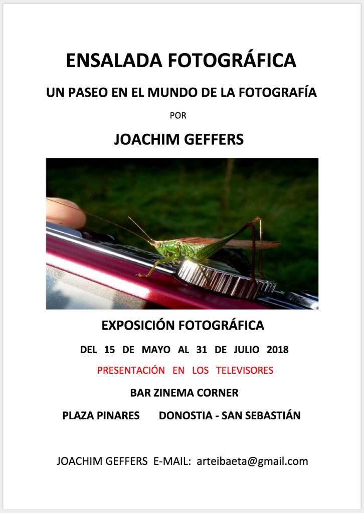 Joachim Geffers: Ensalada fotográfica