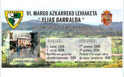 Concurso de pintura rápida en Lesaka