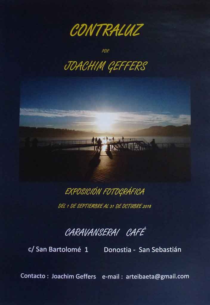 Joachim Geffers en Caravanserai Café