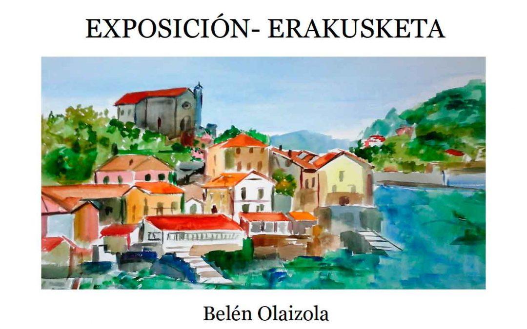 Pinturas de Belén Olaizola en Otzaski