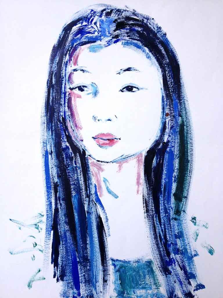 Julia Lasagabaster. Pinturas en La Piazzetta de Gros